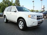 2009 White Suede Ford Escape Limited #12453343