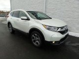 2018 White Diamond Pearl Honda CR-V EX AWD #124715914