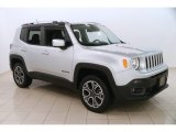 2017 Glacier Metallic Jeep Renegade Limited 4x4 #124716041