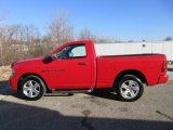 2012 Flame Red Dodge Ram 1500 ST Regular Cab 4x4 #124732084