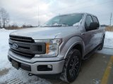 2018 Ingot Silver Ford F150 XLT SuperCrew 4x4 #124732040
