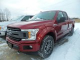 2018 Ruby Red Ford F150 XLT SuperCab 4x4 #124732039