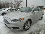 2018 Ingot Silver Ford Fusion SE #124732036