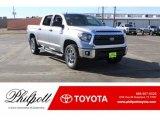2018 Silver Sky Metallic Toyota Tundra SR5 CrewMax 4x4 #124731947