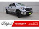 2018 Silver Sky Metallic Toyota Tundra SR5 CrewMax 4x4 #124731946