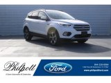 2018 White Platinum Ford Escape SEL #124731934