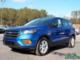 2018 Lightning Blue Ford Escape S #124731756