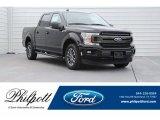 2018 Shadow Black Ford F150 XLT SuperCrew #124757950