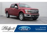2018 Ruby Red Ford F150 Lariat SuperCrew 4x4 #124777423