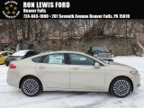 2018 White Gold Ford Fusion SE #124789862