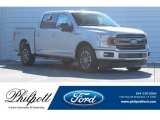 2018 Ingot Silver Ford F150 XLT SuperCrew #124790044