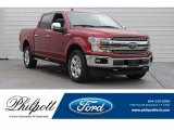 2018 Ruby Red Ford F150 Lariat SuperCrew 4x4 #124790031