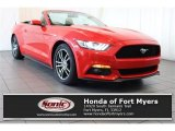 2017 Race Red Ford Mustang EcoBoost Premium Convertible #124789851