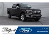 2018 Magma Red Ford F150 Lariat SuperCrew 4x4 #124790018