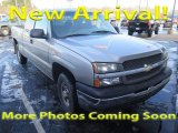 2003 Dark Gray Metallic Chevrolet Silverado 1500 LS Extended Cab 4x4 #124790140