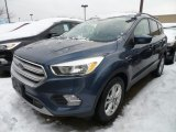 2018 Blue Metallic Ford Escape SE #124790194