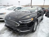 2018 Shadow Black Ford Fusion Hybrid SE #124790193