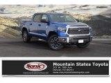 2018 Blazing Blue Pearl Toyota Tundra SR5 CrewMax 4x4 #124789821