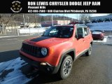 2017 Omaha Orange Jeep Renegade Trailhawk 4x4 #124790129
