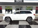 2017 Bright White Jeep Grand Cherokee Overland 4x4 #124790120