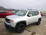 2017 Glacier Metallic Jeep Renegade Latitude 4x4 #124821908
