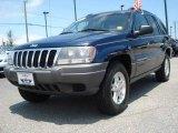 2002 Patriot Blue Pearlcoat Jeep Grand Cherokee Laredo 4x4 #12446467