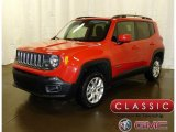2017 Colorado Red Jeep Renegade Latitude 4x4 #124821964