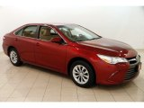 2015 Ruby Flare Pearl Toyota Camry LE #124843146