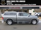 2012 Mineral Gray Metallic Dodge Ram 1500 SLT Quad Cab 4x4 #124842761