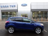 2014 Deep Impact Blue Ford Escape Titanium 2.0L EcoBoost 4WD #124842931