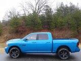 2018 Ram 1500 Hydro Blue Pearl