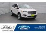 2018 White Platinum Ford Escape Titanium #124843007