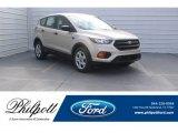 2018 White Gold Ford Escape S #124843005