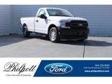 2018 Oxford White Ford F150 XL Regular Cab #124843001