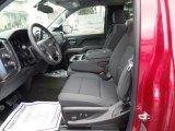 2018 Chevrolet Silverado 1500 LT Regular Cab 4x4 Jet Black Interior