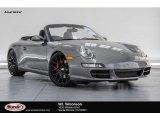 2008 Meteor Grey Metallic Porsche 911 Carrera S Cabriolet #124890722
