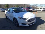 2018 White Platinum Ford Fusion SE AWD #124890822