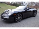 2016 Black Porsche 911 Carrera Cabriolet Black Edition #124914494