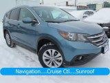 2014 Twilight Blue Metallic Honda CR-V EX-L AWD #124928680