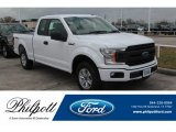 2018 Oxford White Ford F150 XL SuperCab #124928769