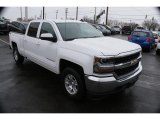 2016 Summit White Chevrolet Silverado 1500 LT Crew Cab 4x4 #124928665
