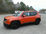 2017 Omaha Orange Jeep Renegade Latitude #124928858