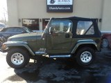 2006 Jeep Green Metallic Jeep Wrangler X 4x4 #124928855