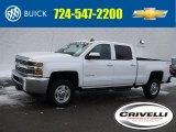 2017 Summit White Chevrolet Silverado 2500HD LT Crew Cab 4x4 #124928812