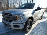 2018 Ingot Silver Ford F150 XLT SuperCrew 4x4 #124945305