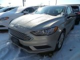 2018 White Gold Ford Fusion SE #124945304