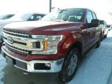 2018 Ruby Red Ford F150 XLT SuperCab 4x4 #124945300