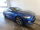 2017 Lightning Blue Ford Mustang Ecoboost Coupe #124945164