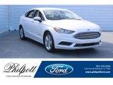 2018 White Platinum Ford Fusion Hybrid SE #124945233