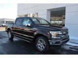 2018 Magma Red Ford F150 Lariat SuperCrew 4x4 #124962806
